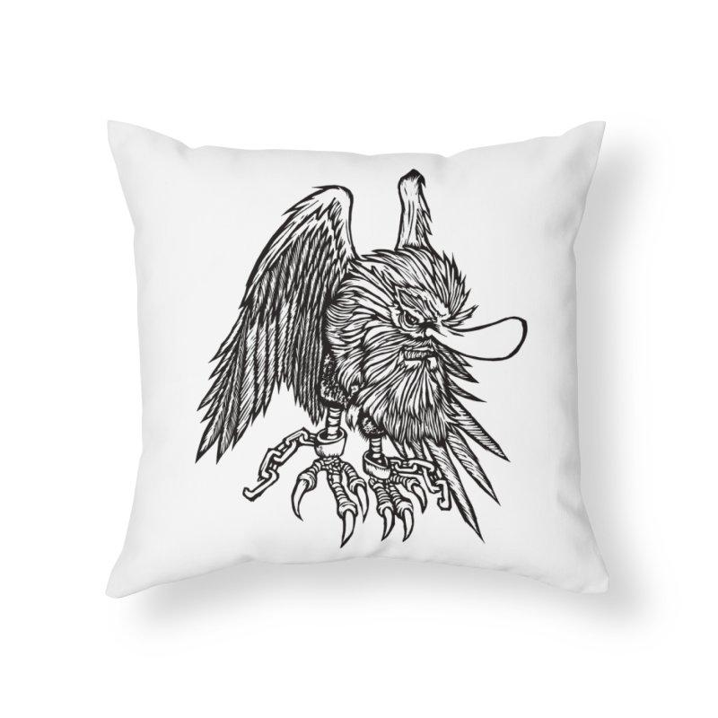 Tengu Home Throw Pillow by DaNkJiMz