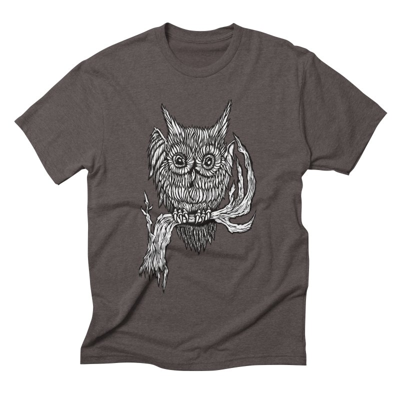 Owlie Men's Triblend T-shirt by DaNkJiMz