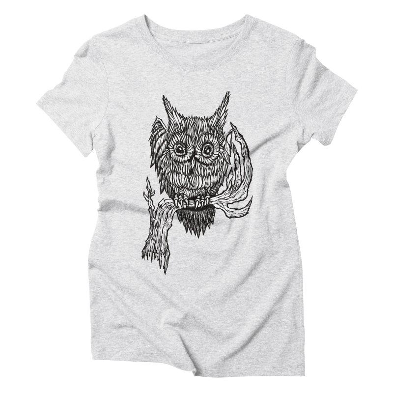 Owlie Women's Triblend T-shirt by DaNkJiMz
