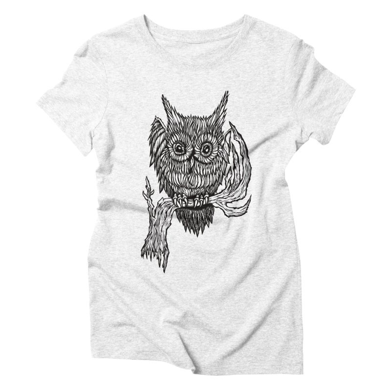 Owlie Women's Triblend T-shirt by DaNkJiMz