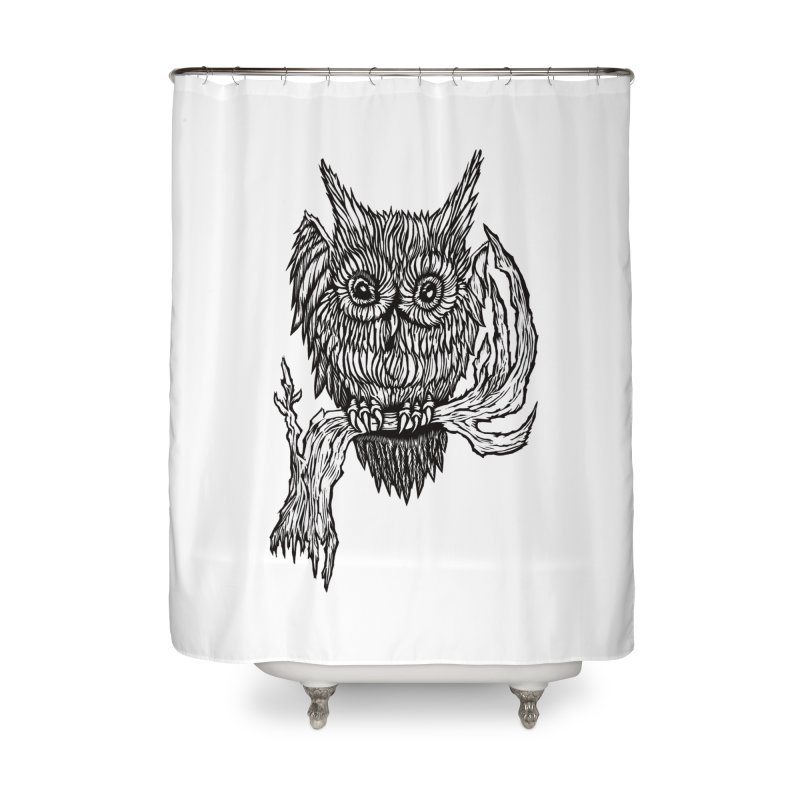 Owlie Home Shower Curtain by DaNkJiMz