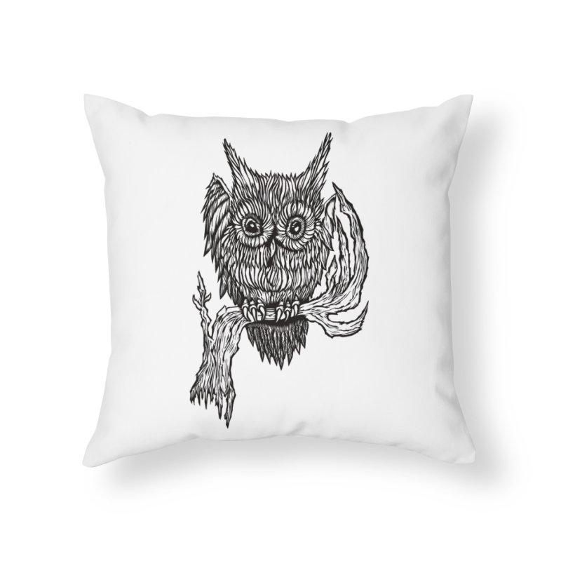 Owlie Home Throw Pillow by DaNkJiMz