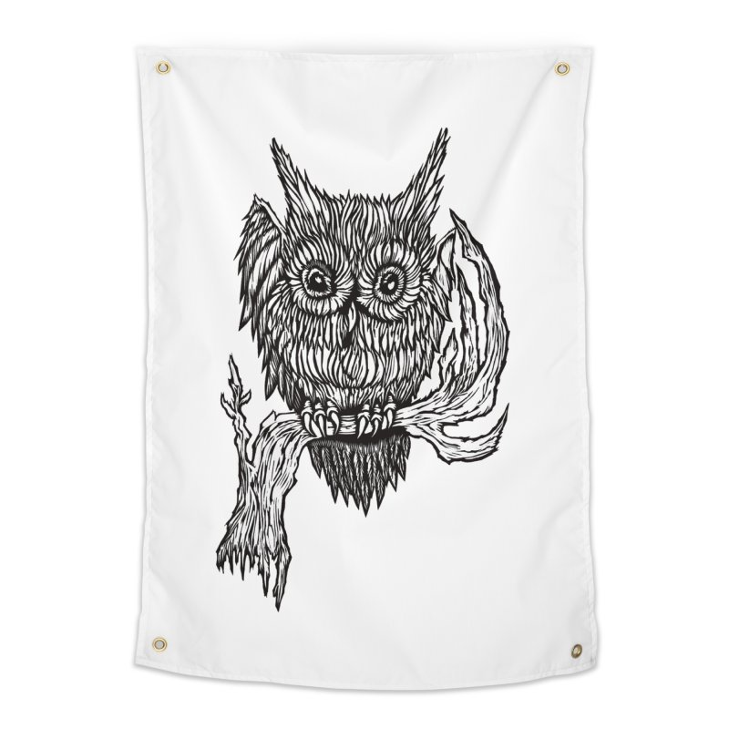 Owlie Home Tapestry by DaNkJiMz