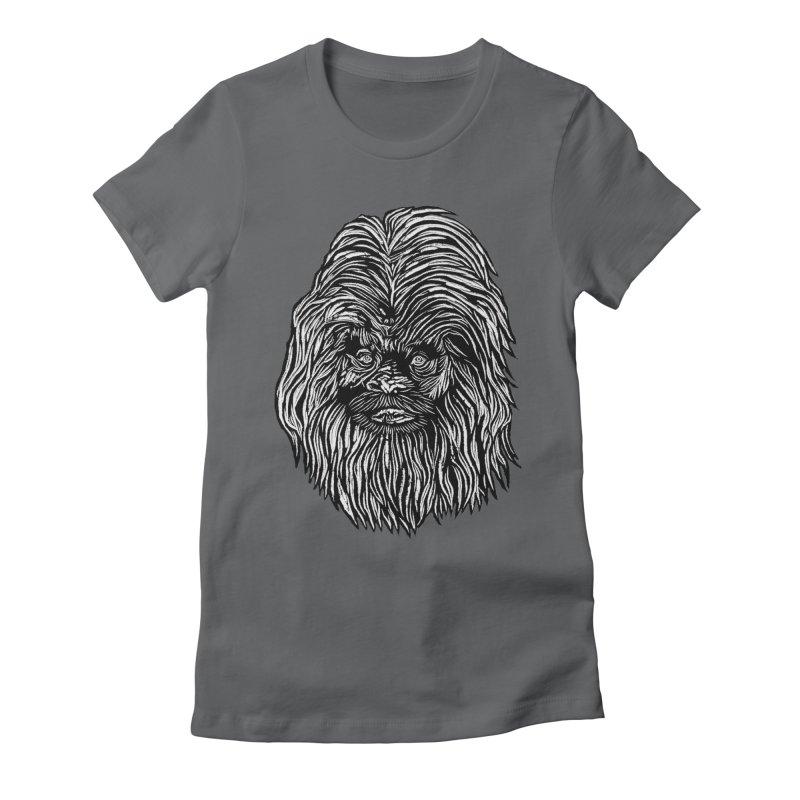 Sasquatch Women's Fitted T-Shirt by DaNkJiMz