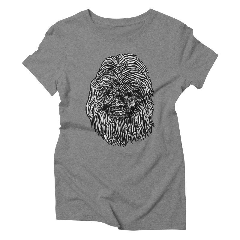 Sasquatch Women's Triblend T-Shirt by DaNkJiMz