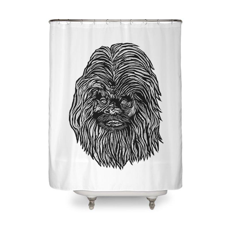 Sasquatch Home Shower Curtain by DaNkJiMz