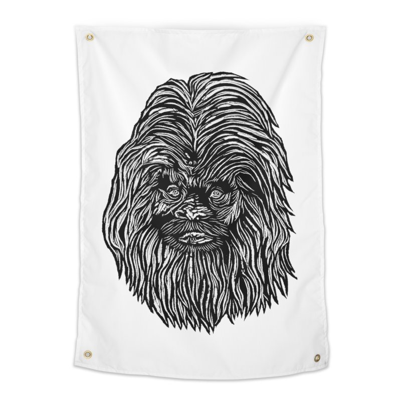 Sasquatch Home Tapestry by DaNkJiMz