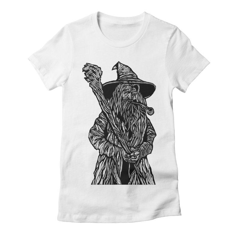Gandalf Women's Fitted T-Shirt by DaNkJiMz