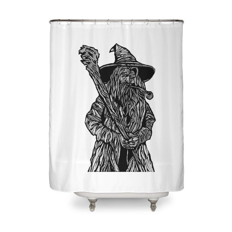 Gandalf Home Shower Curtain by DaNkJiMz