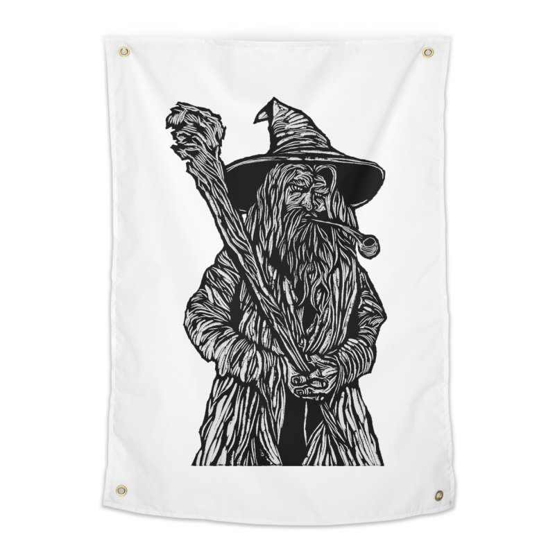 Gandalf Home Tapestry by DaNkJiMz