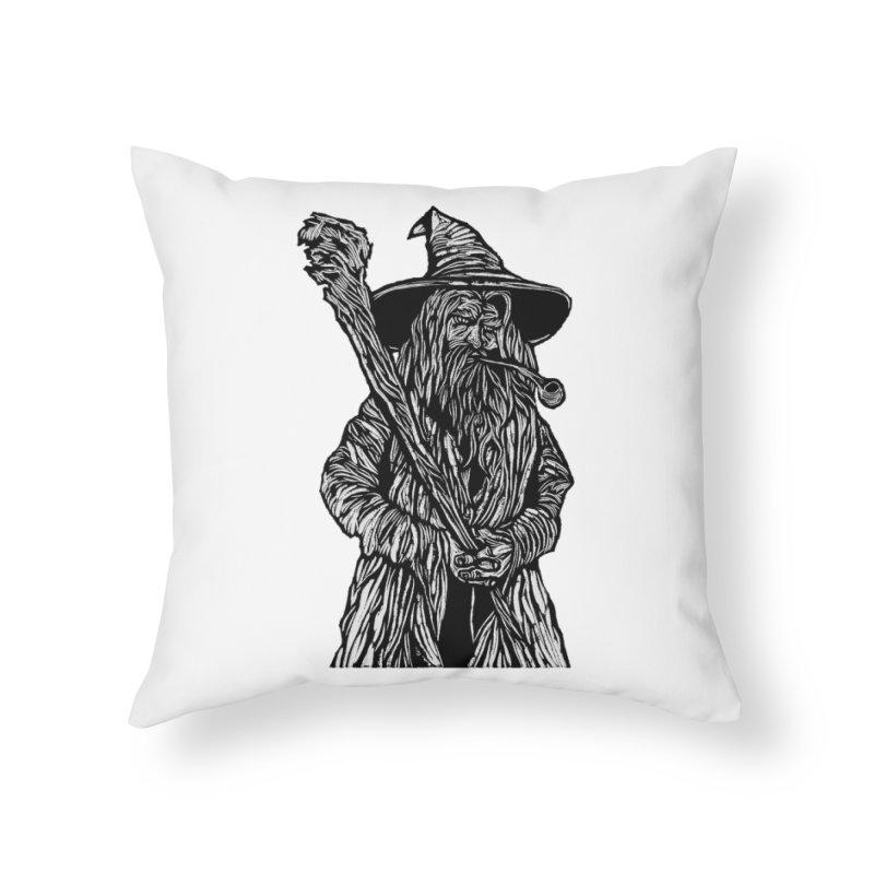 Gandalf Home Throw Pillow by DaNkJiMz