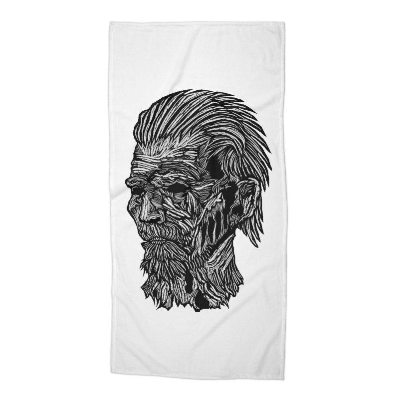 White Walker Accessories Beach Towel by DaNkJiMz