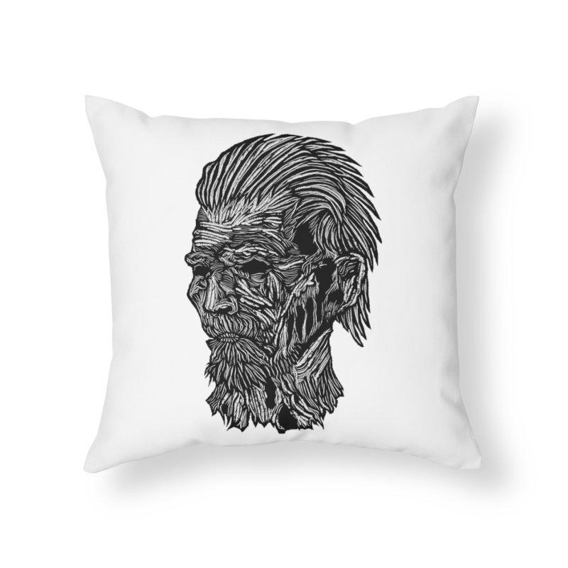 White Walker Home Throw Pillow by DaNkJiMz