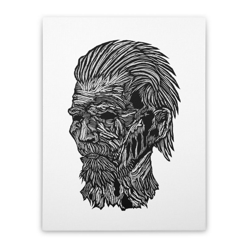 White Walker Home Stretched Canvas by DaNkJiMz