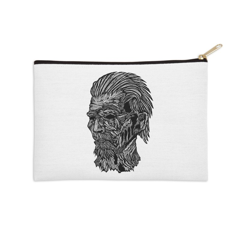 White Walker Accessories Zip Pouch by DaNkJiMz