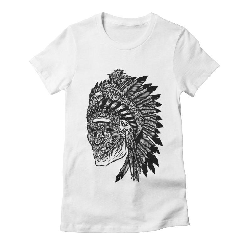 Spirit Guide Women's Fitted T-Shirt by DaNkJiMz