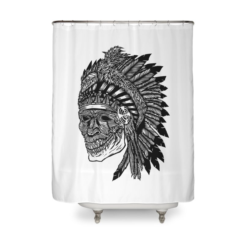 Spirit Guide Home Shower Curtain by DaNkJiMz
