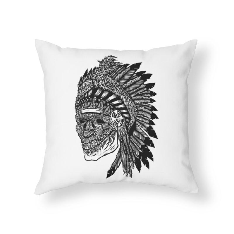 Spirit Guide Home Throw Pillow by DaNkJiMz