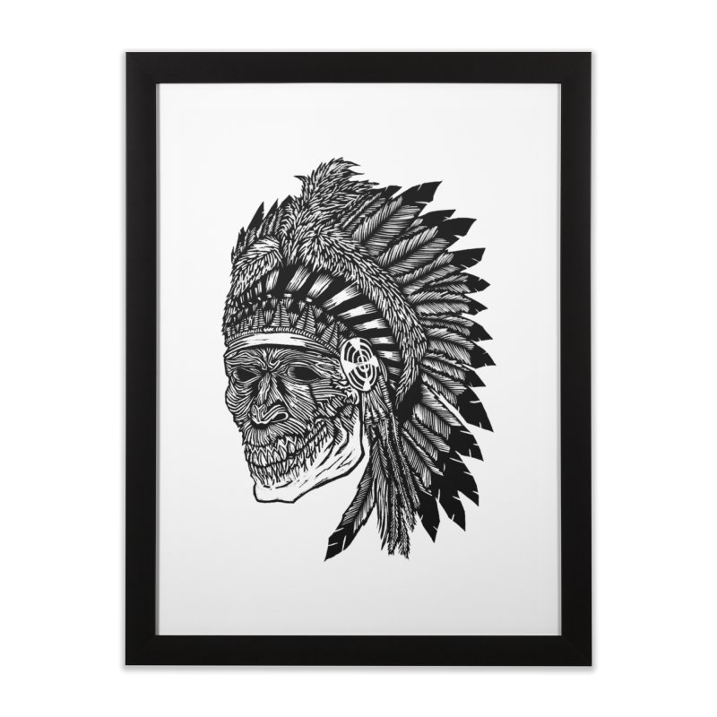 Spirit Guide Home Framed Fine Art Print by DaNkJiMz