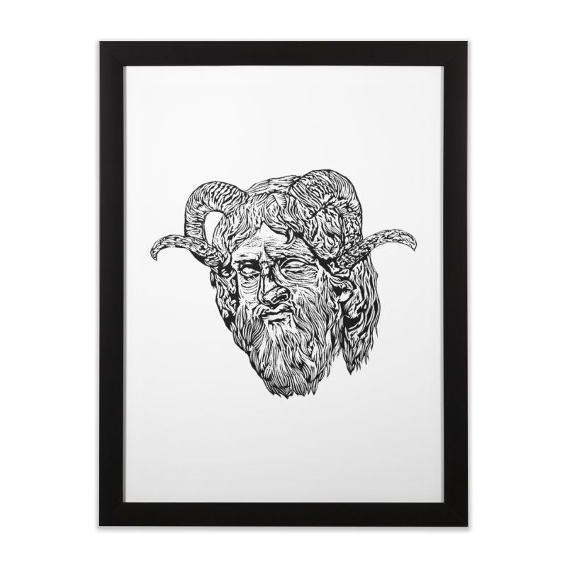Hades Home Framed Fine Art Print by DaNkJiMz