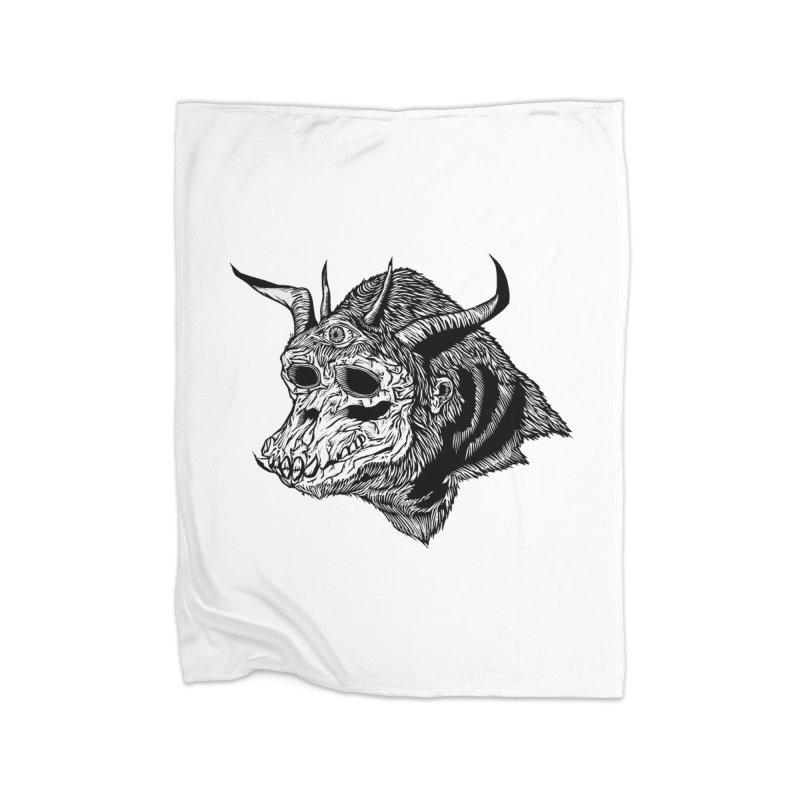 Magick Ape Home Blanket by DaNkJiMz