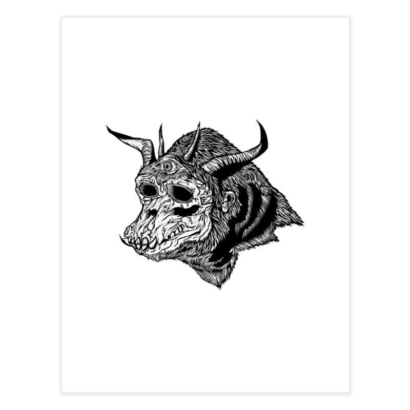 Magick Ape Home Fine Art Print by DaNkJiMz
