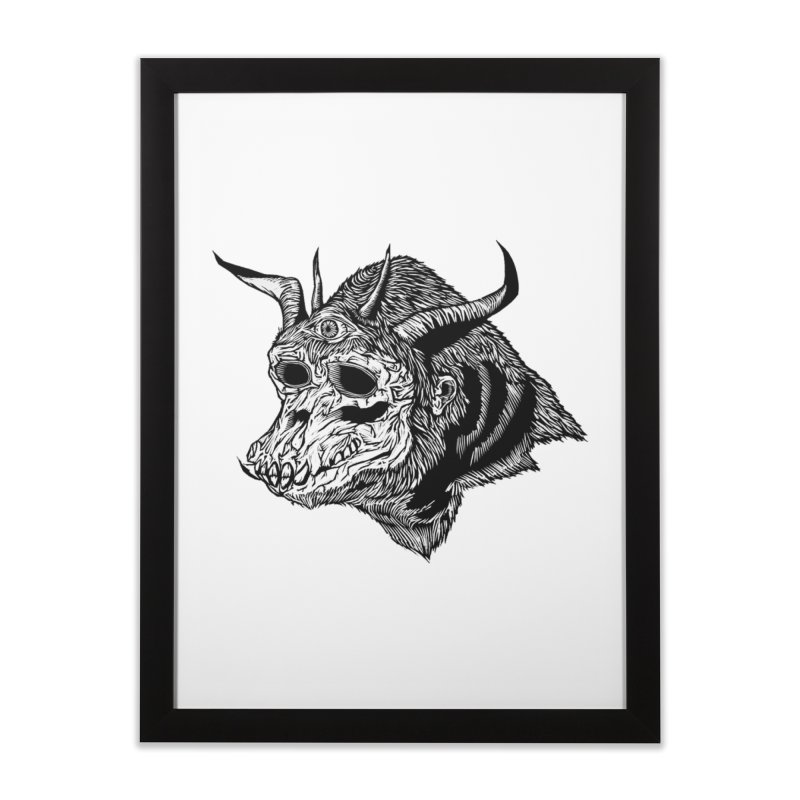 Magick Ape Home Framed Fine Art Print by DaNkJiMz