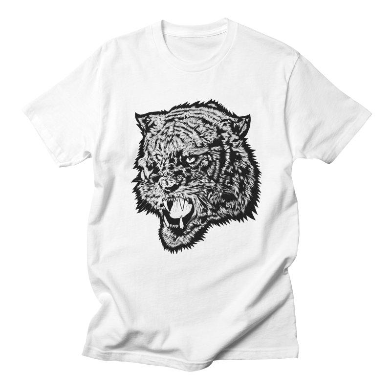 Tiger Men's T-shirt by DaNkJiMz