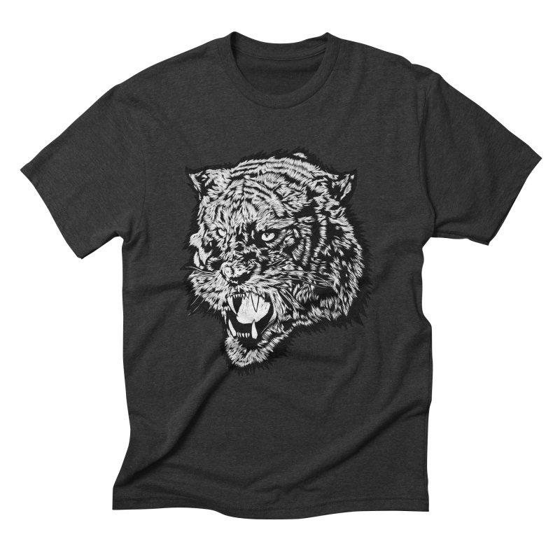 Tiger Men's Triblend T-Shirt by DaNkJiMz