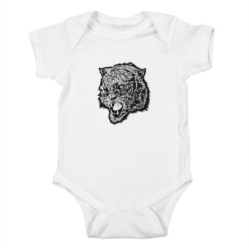 Tiger Kids Baby Bodysuit by DaNkJiMz