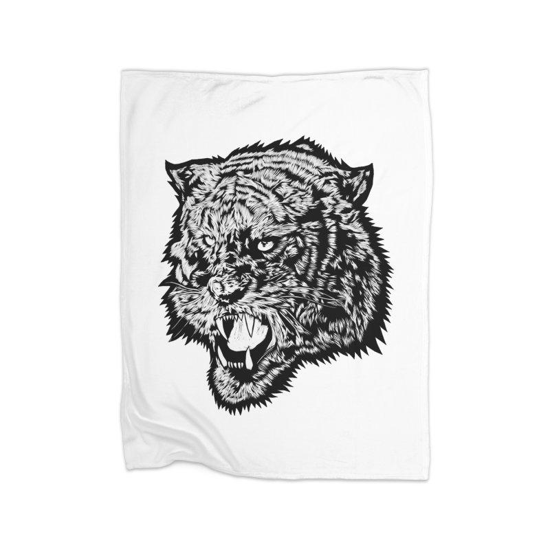 Tiger Home Blanket by DaNkJiMz