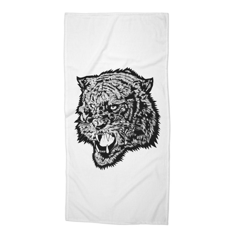Tiger Accessories Beach Towel by DaNkJiMz