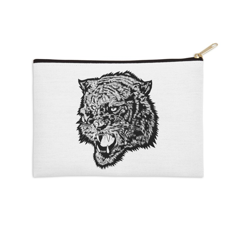 Tiger Accessories Zip Pouch by DaNkJiMz