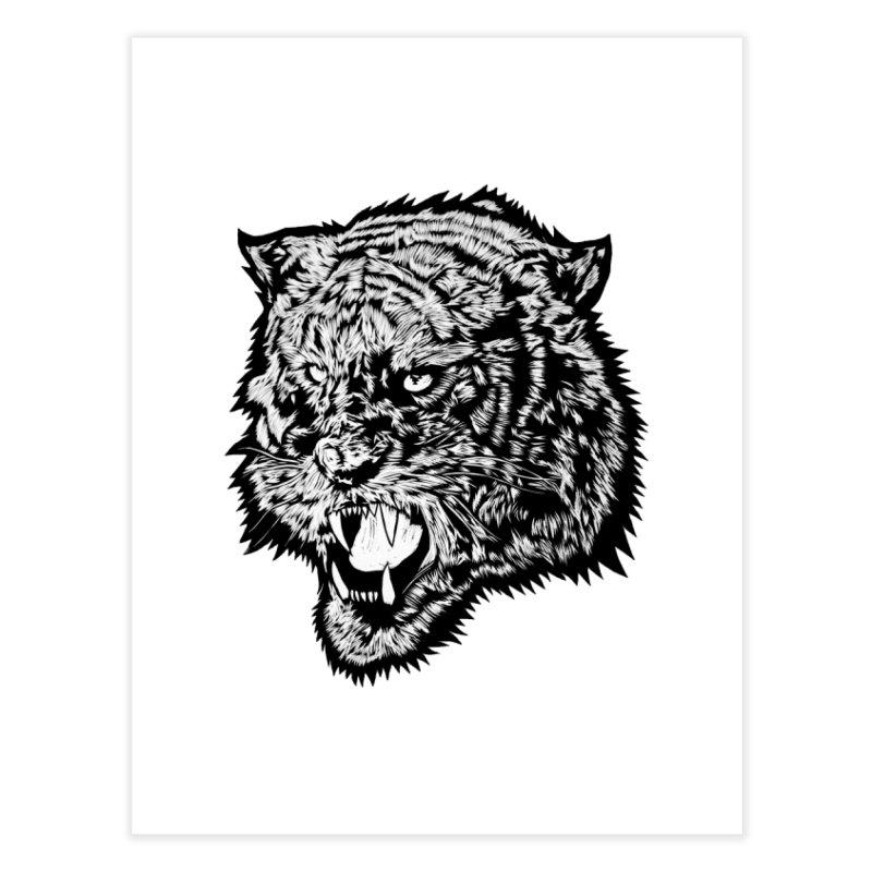 Tiger Home Fine Art Print by DaNkJiMz