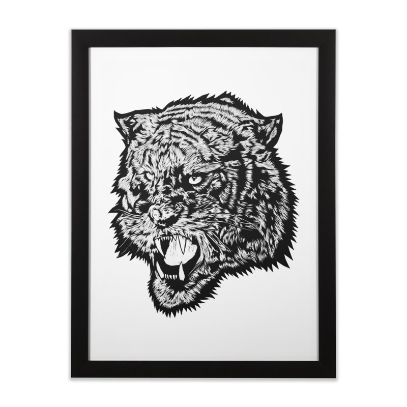 Tiger Home Framed Fine Art Print by DaNkJiMz