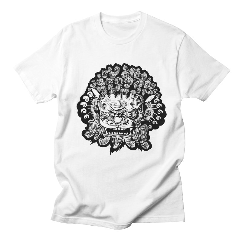 Foo Dog Men's T-shirt by DaNkJiMz