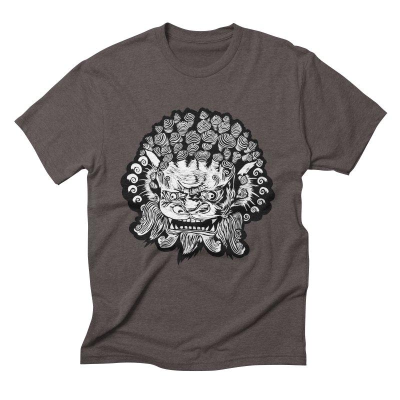 Foo Dog Men's Triblend T-Shirt by DaNkJiMz