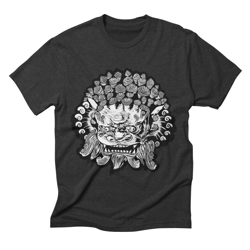 Foo Dog Men's Triblend T-shirt by DaNkJiMz