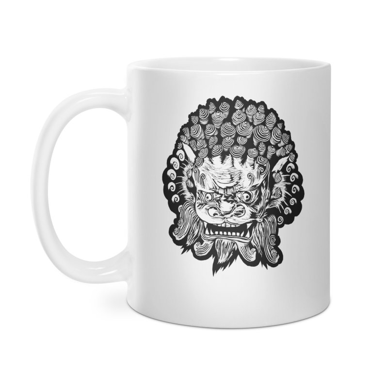Foo Dog Accessories Mug by DaNkJiMz