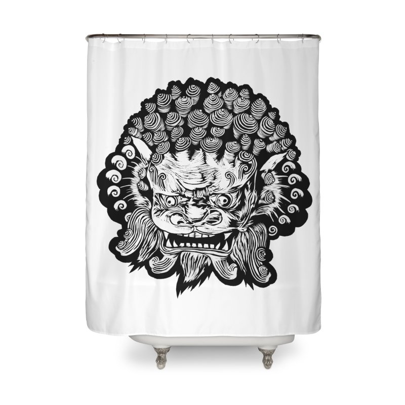 Foo Dog Home Shower Curtain by DaNkJiMz
