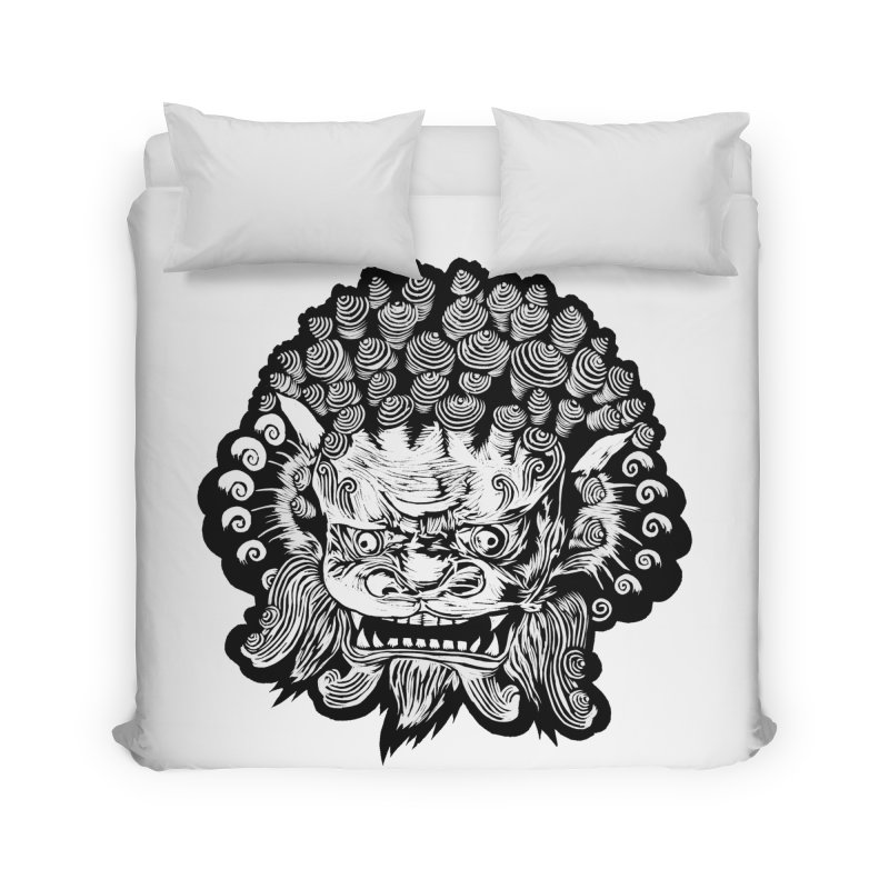 Foo Dog Home Duvet by DaNkJiMz