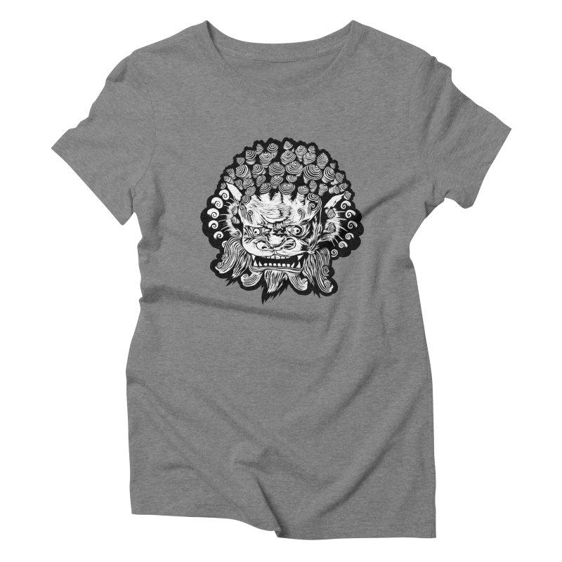 Foo Dog Women's Triblend T-Shirt by DaNkJiMz