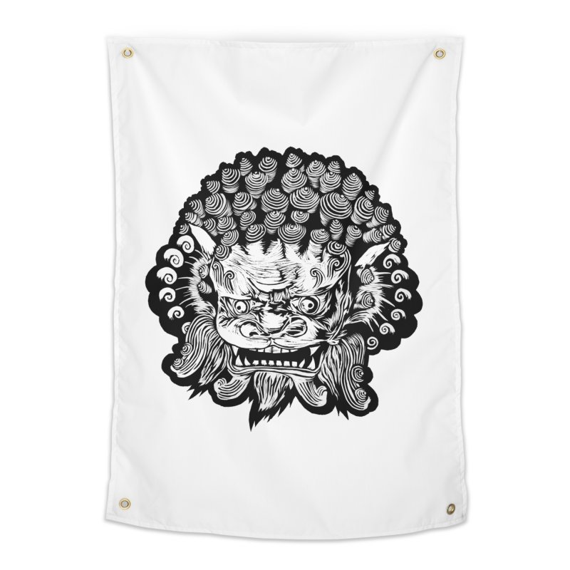 Foo Dog Home Tapestry by DaNkJiMz