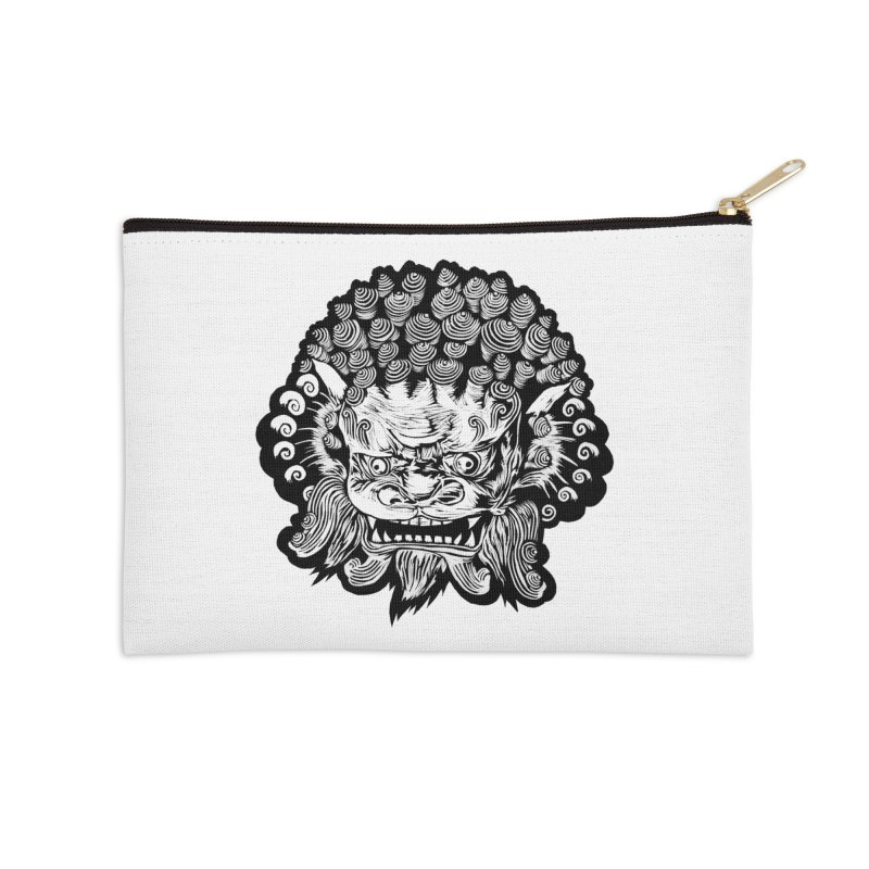 Foo Dog Accessories Zip Pouch by DaNkJiMz