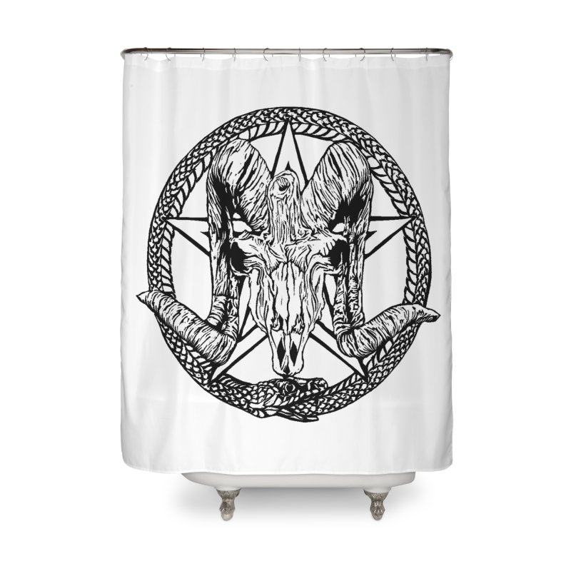 Sigil Home Shower Curtain by DaNkJiMz