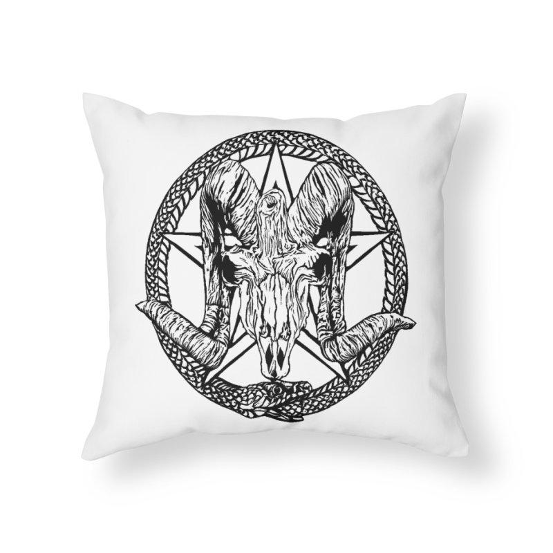 Sigil Home Throw Pillow by DaNkJiMz