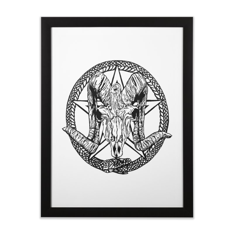 Sigil Home Framed Fine Art Print by DaNkJiMz