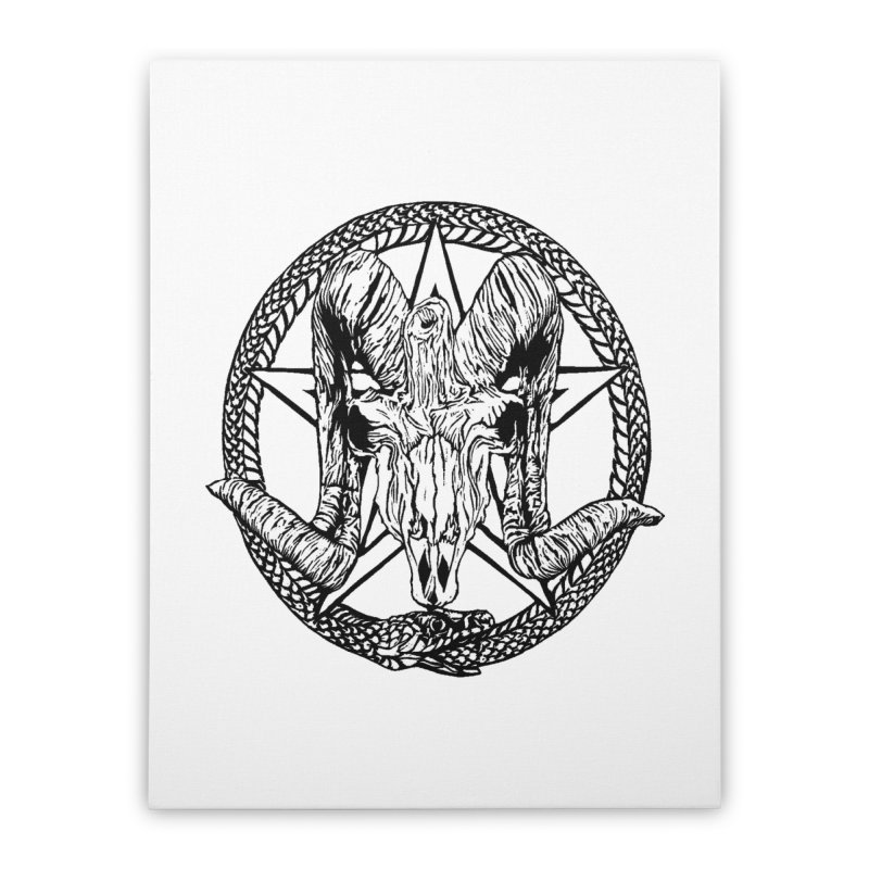Sigil Home Stretched Canvas by DaNkJiMz