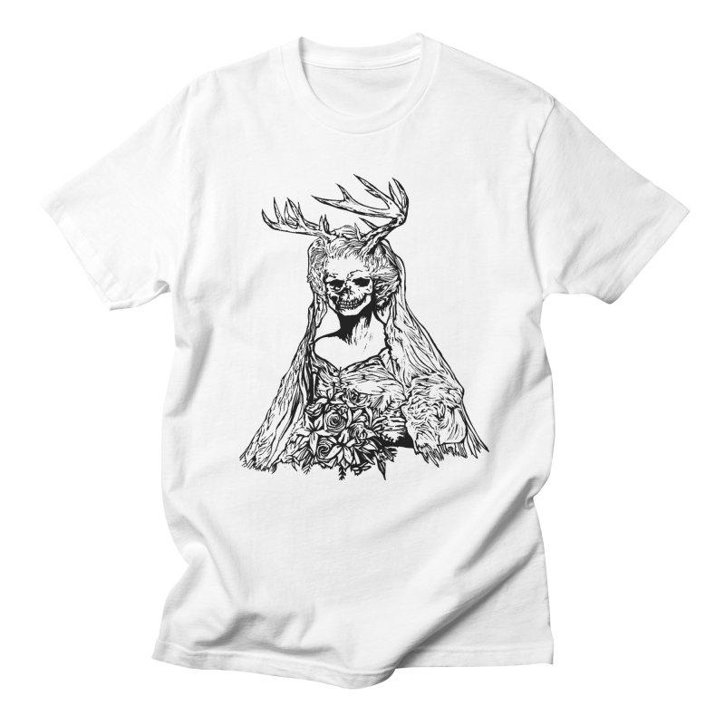 Skeleton bride Men's T-shirt by DaNkJiMz