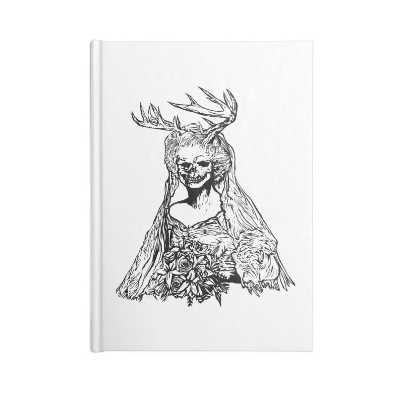 Skeleton bride Accessories Notebook by DaNkJiMz